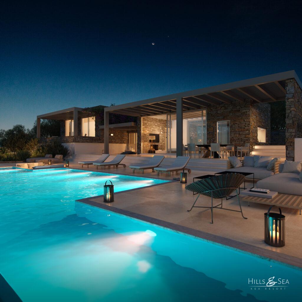 Kea Resort, le projet immobilier de luxe du promoteur Inmo Invest sur l'île de Kea